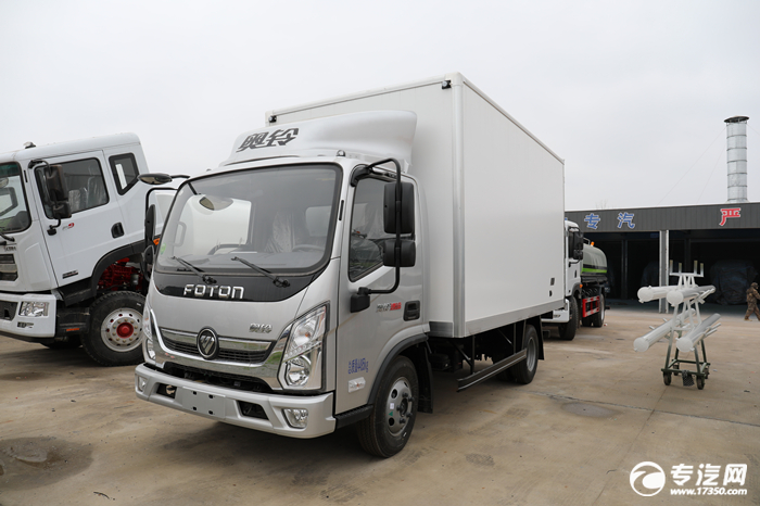 福田奥铃速运国六4.08米冷藏车配置说明