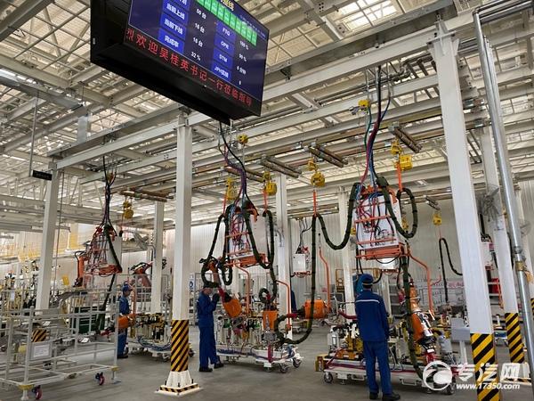 智能化、数字化的生产制造车间