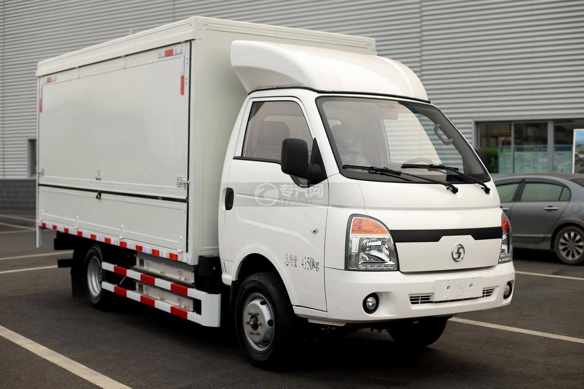 陜汽軒德E9S國六藍牌純電動廂式貨車
