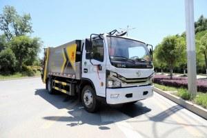 東風D6國六壓縮式垃圾車圖片