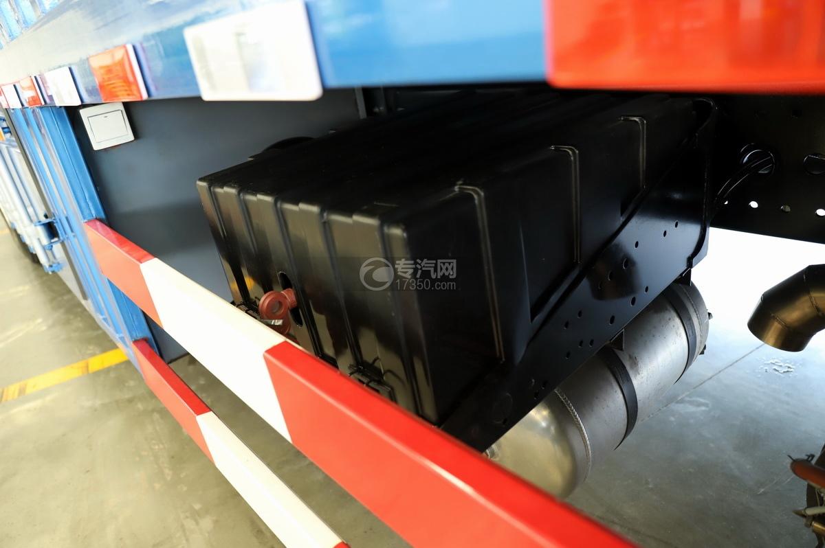 陕汽轩德翼3单桥国六厢式货车蓄电池