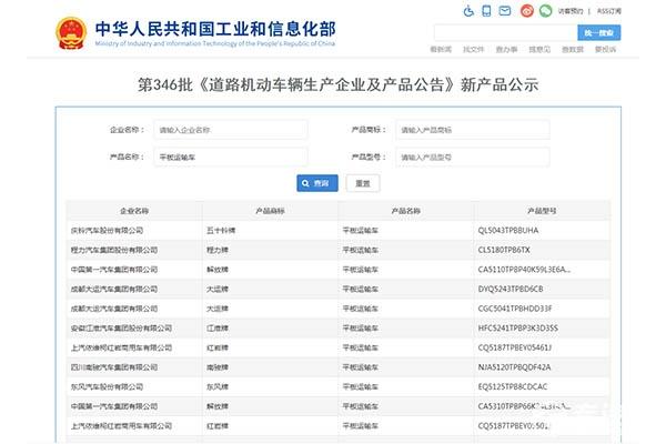 第346批次新产品之专用车看点:湖北省内环卫垃圾车占比43%