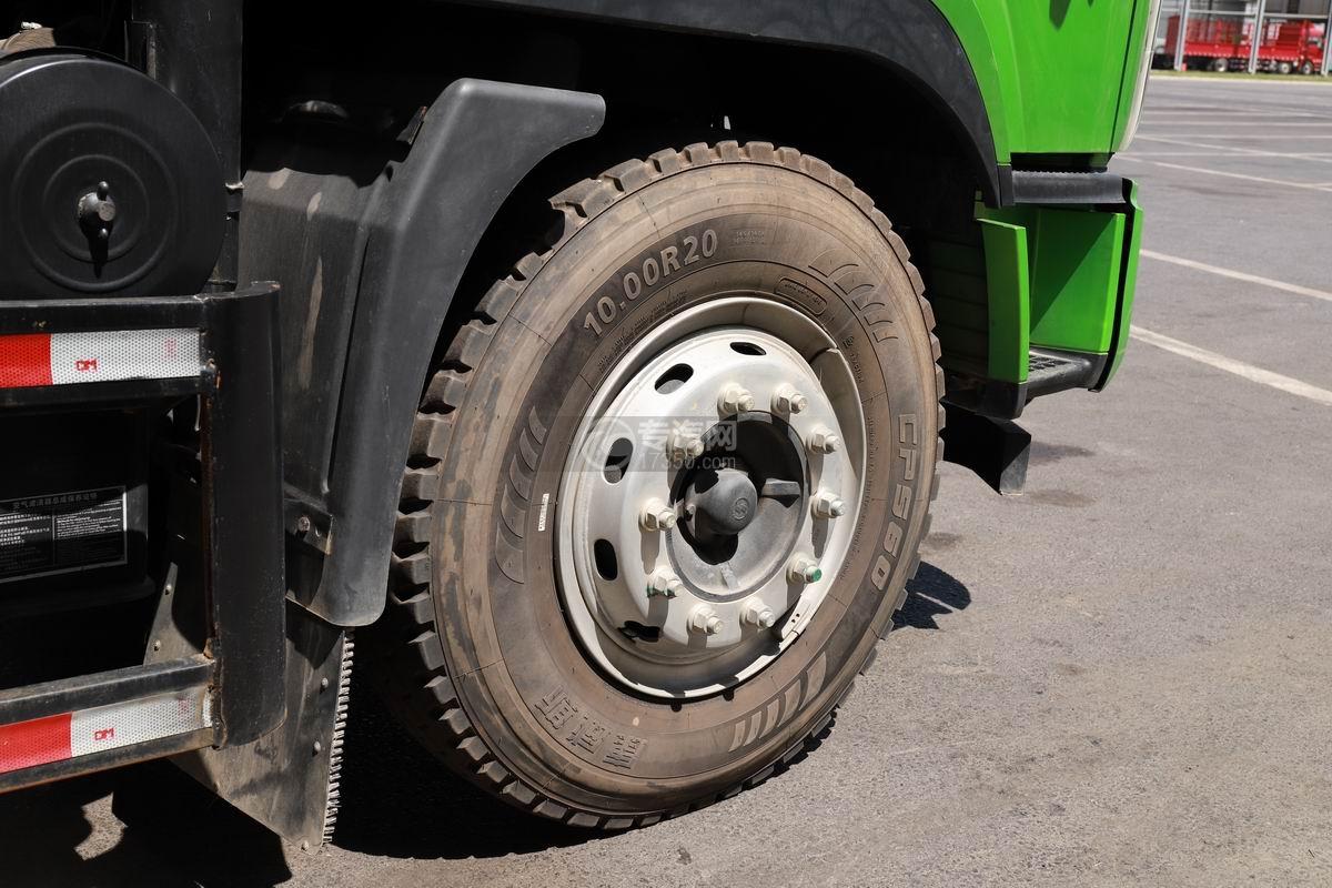 陕汽轩德X9国六自卸车前轮胎