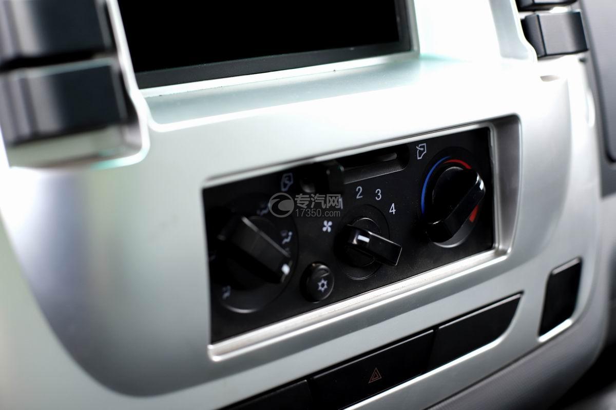 陕汽轩德X9单排国五自卸车空调按钮