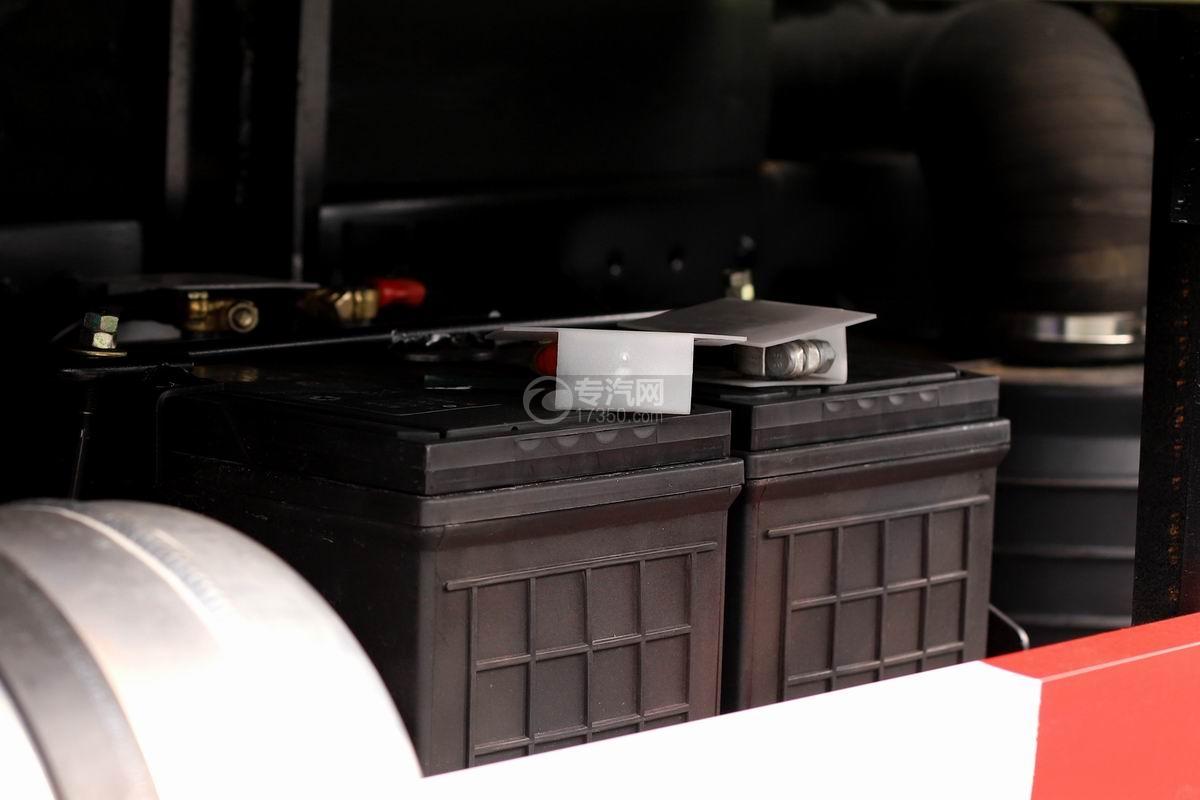 陕汽轩德X9单排国五自卸车蓄电池