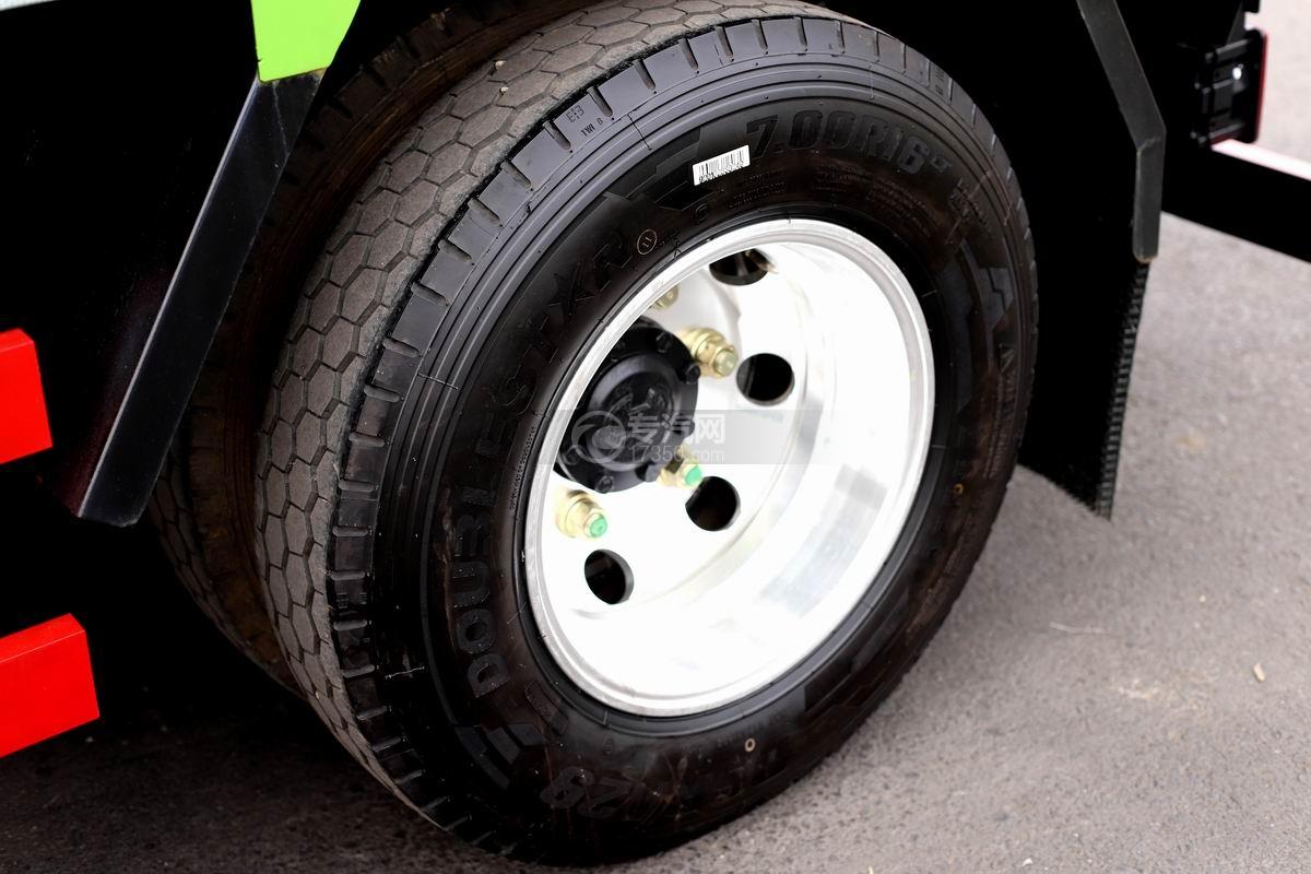 陕汽轩德X9单排国五自卸车轮胎