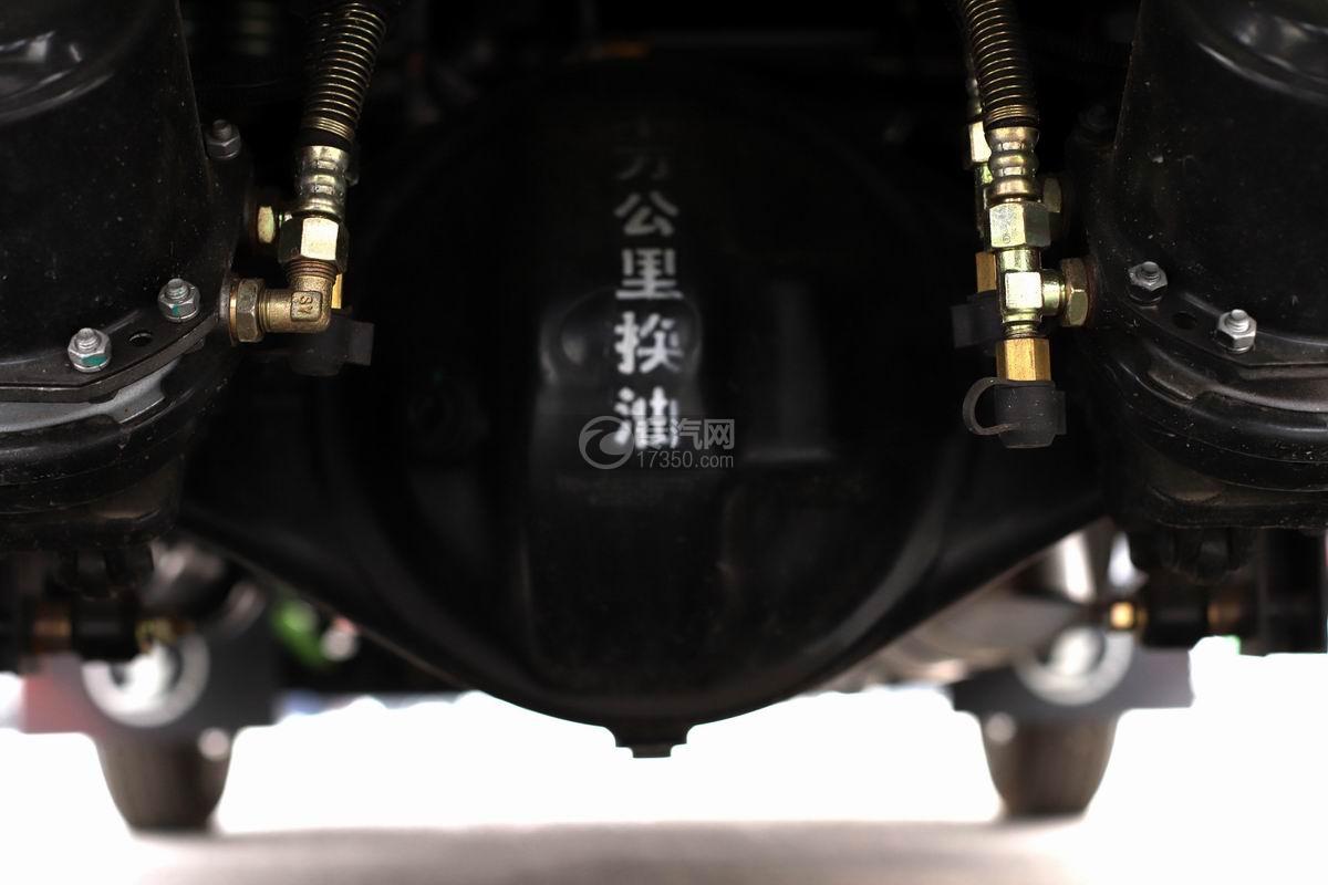 陕汽轩德X9单排国五自卸车后桥