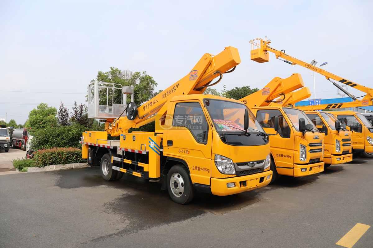 福田時代小卡之星3國六21米伸縮臂式高空作業車