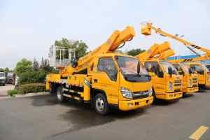 福田時代小卡之星3國六21米伸縮臂式高空作業車圖片