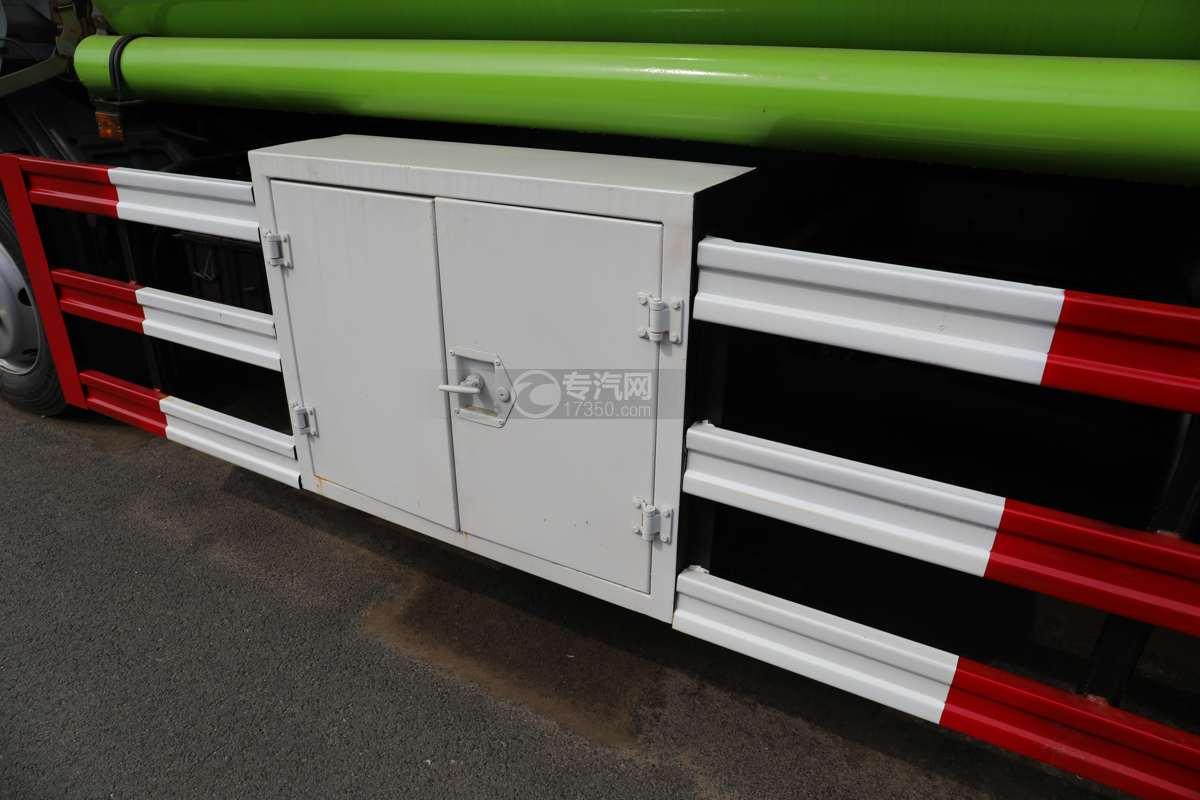 东风多利卡D7国六9方运水车工具箱