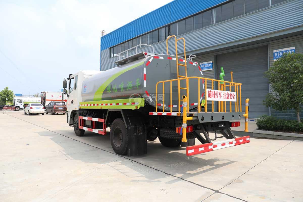 东风锦程V6国六10.11方绿化喷洒车左后图