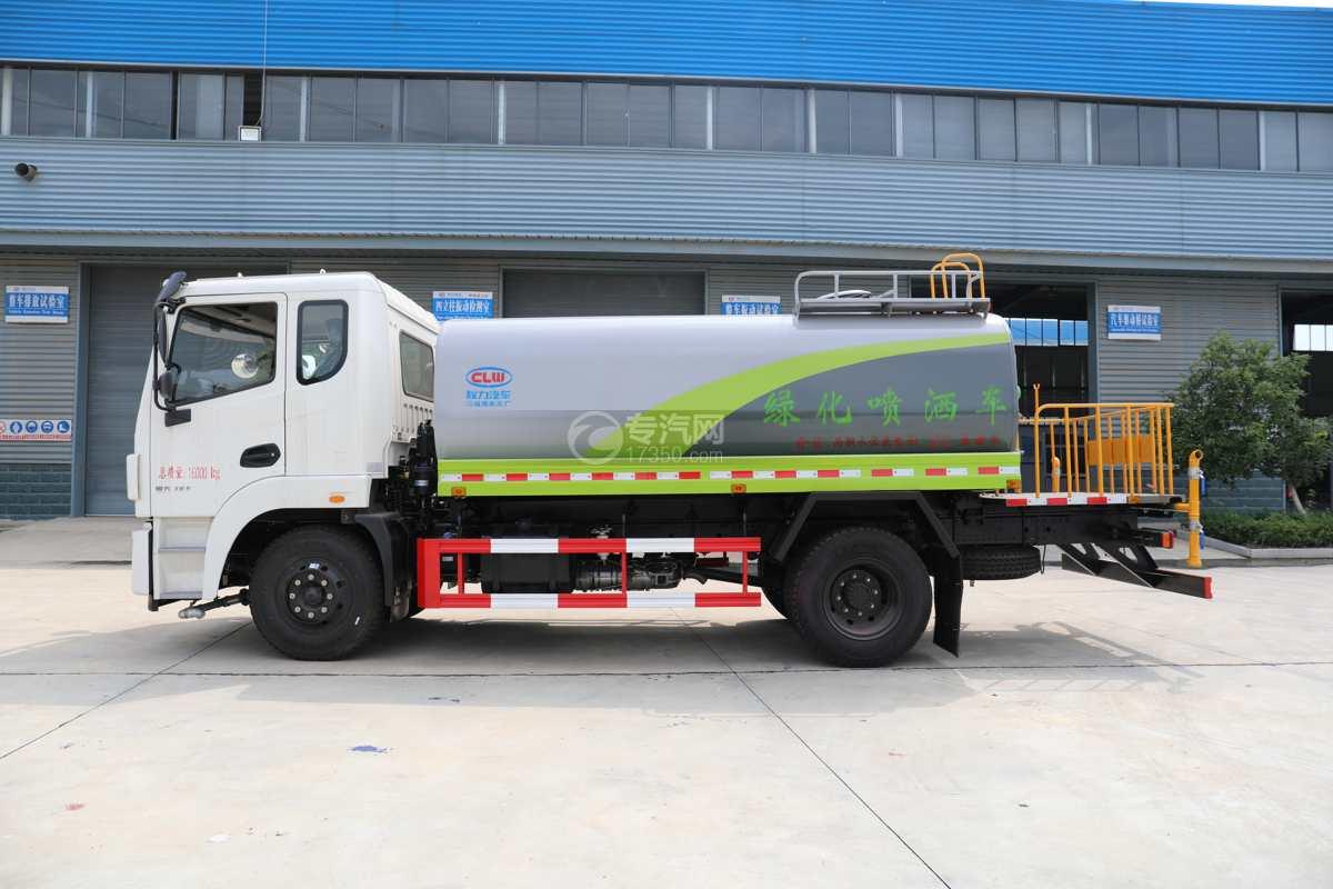 东风锦程V6国六10.11方绿化喷洒车左侧图