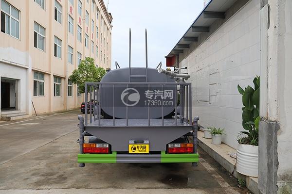 大运奥普力A3国六4.2方洒水车车尾图