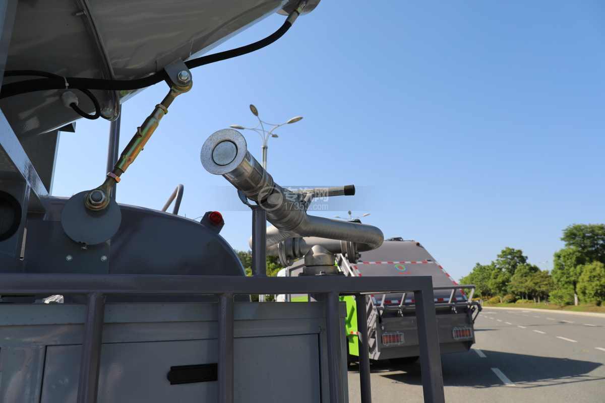 大运奥普力A3国六4.2方绿化喷洒车带雾炮洒水炮