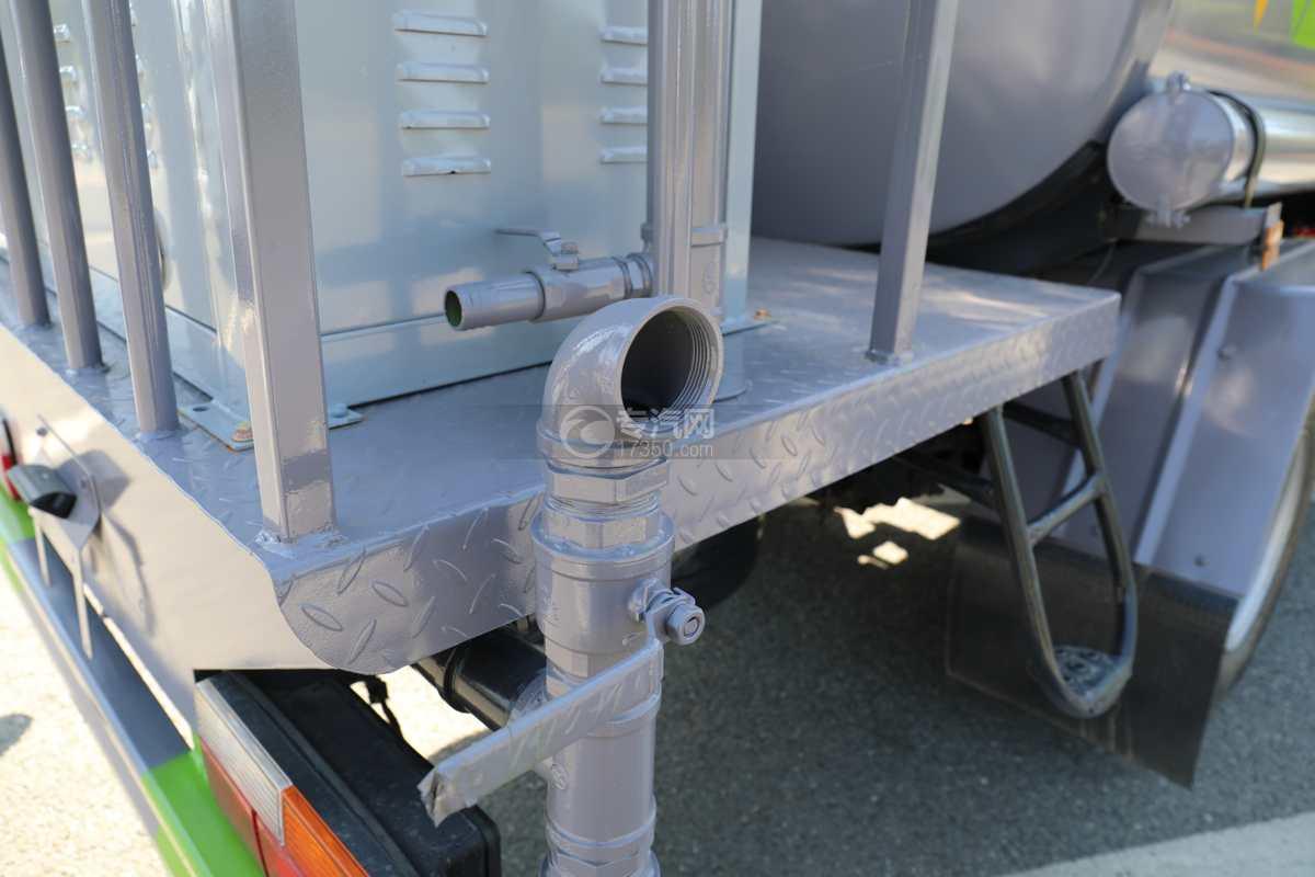 大运奥普力A3国六4.2方绿化喷洒车带雾炮侧喷