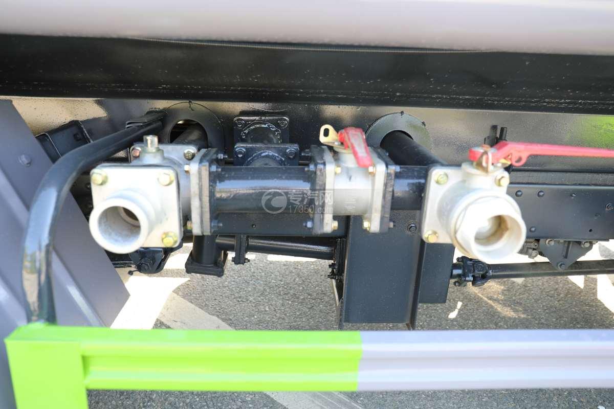 大运奥普力A3国六4.2方绿化喷洒车带雾炮球阀