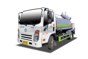 大運奧普力A3國六4.2方綠化噴灑車帶霧炮