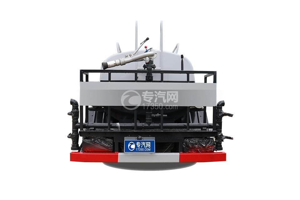 东风途逸T5国六2.06方洒水车车尾图
