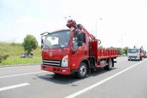 大運新奧普力單排國六163馬力抓斗式垃圾車圖片