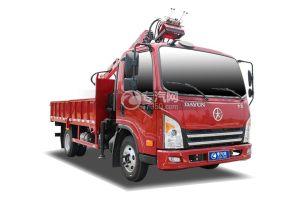 大運新奧普力單排國六163馬力抓斗式垃圾車