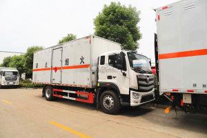 福田歐航國六6.8米易燃液體廂式運輸車圖片