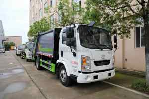 躍進開拓T100國六壓縮式垃圾車圖片