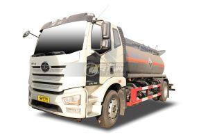 解放J6L国六9.4方腐蚀性物品罐式运输车