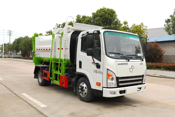 大运新奥普力A5国六自装卸式垃圾车