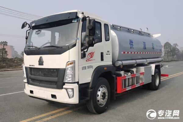8月份中國重汽重卡銷量第一,它的豪沃G5X中卡供液車怎么樣呢?