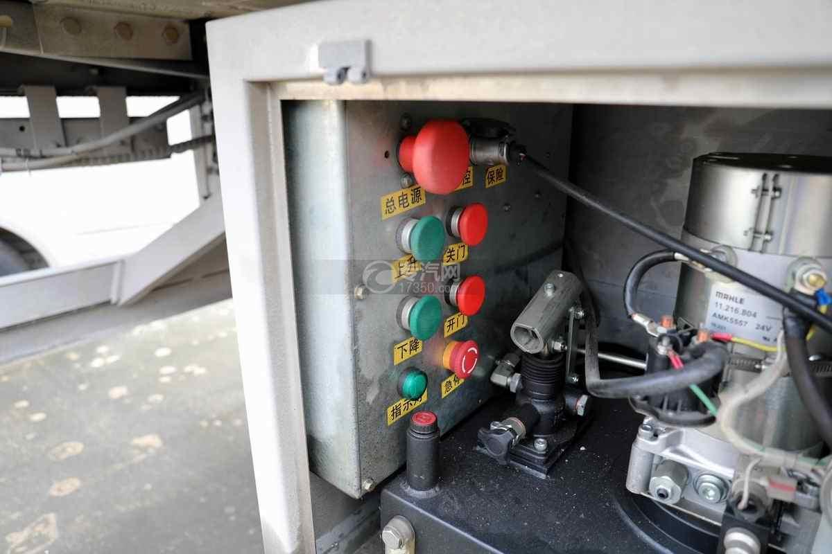 东风柳汽乘龙H5小三轴国六铝合金畜禽运输车电控面板