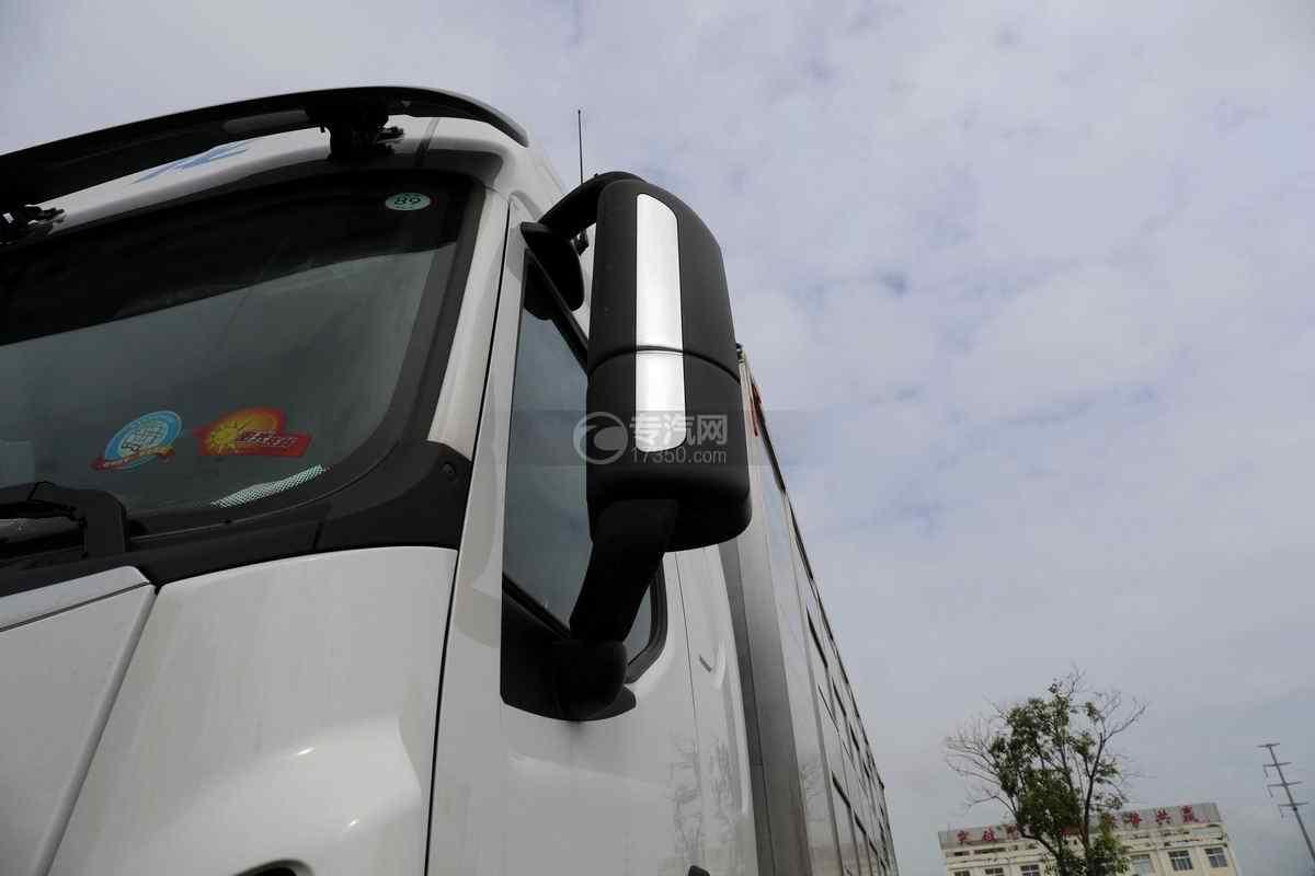 东风柳汽乘龙H5小三轴国六铝合金畜禽运输车后视镜