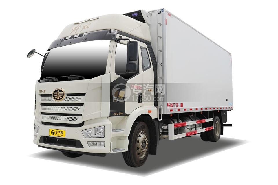 解放J6L精英版國六6.8米冷藏車