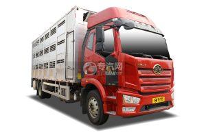 解放J6L單橋國六鋁合金畜禽運輸車