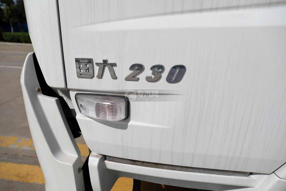 东风天锦VR单桥国六230马力压缩式垃圾车外观细节