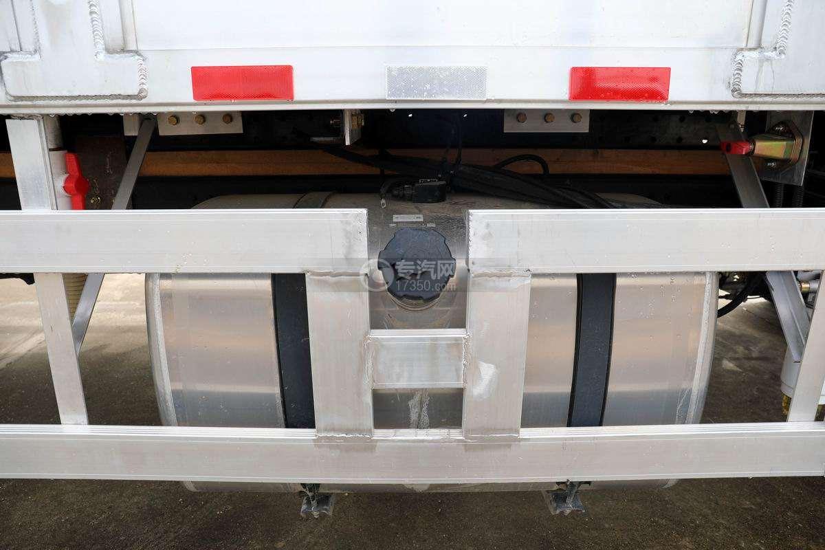 解放J6L单桥国六铝合金畜禽运输车(新款)铝合金油箱