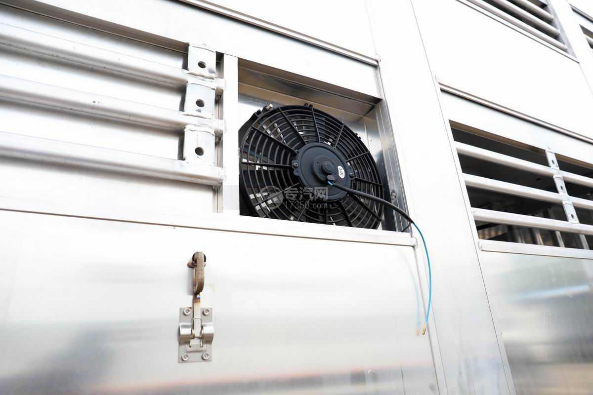 解放J6L单桥国六铝合金畜禽运输车(新款)换气扇