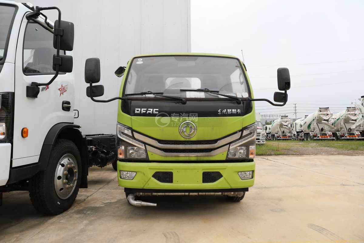 东风多利卡D6国六4方绿化喷洒车车前图