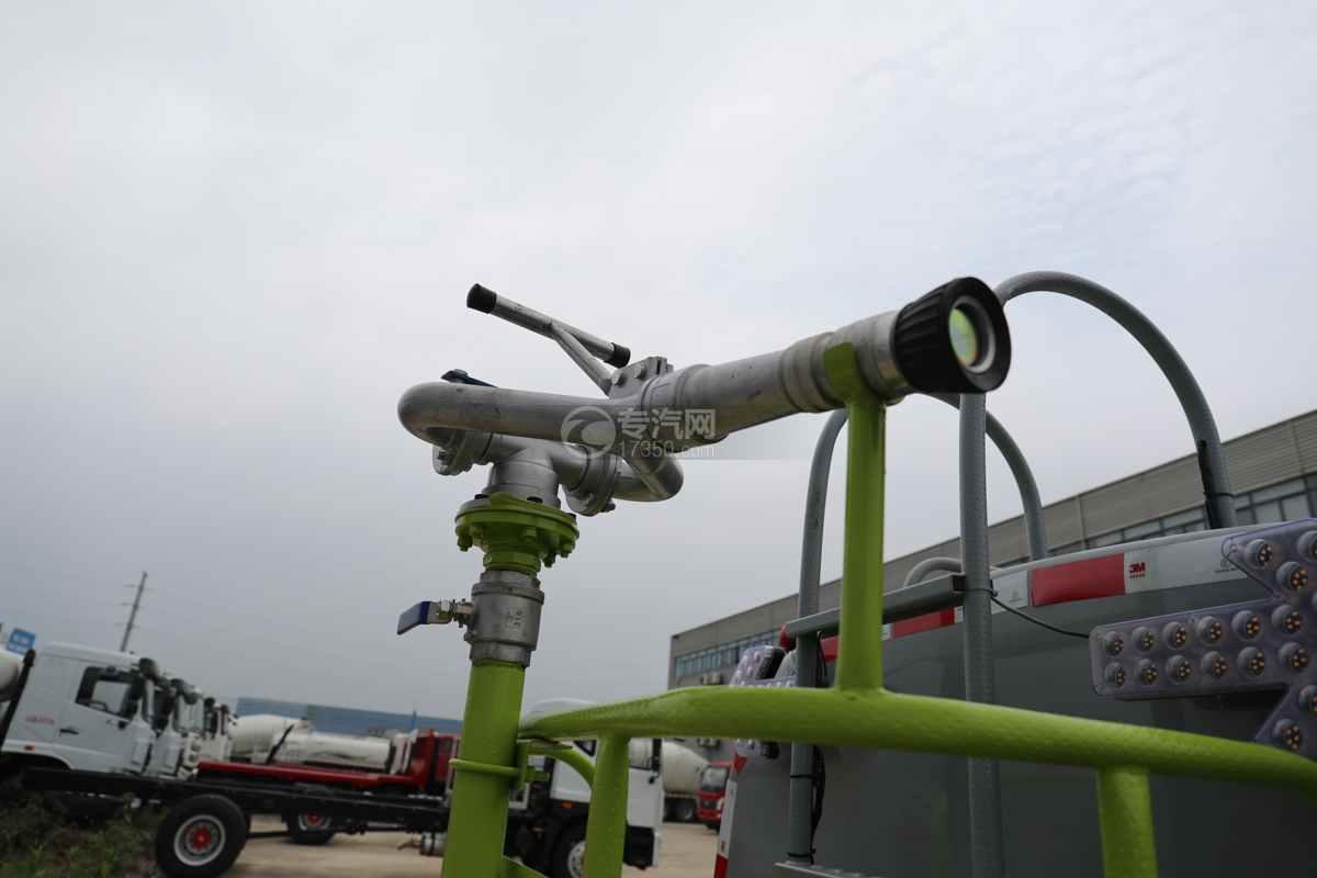 东风多利卡D6国六4方绿化喷洒车洒水炮