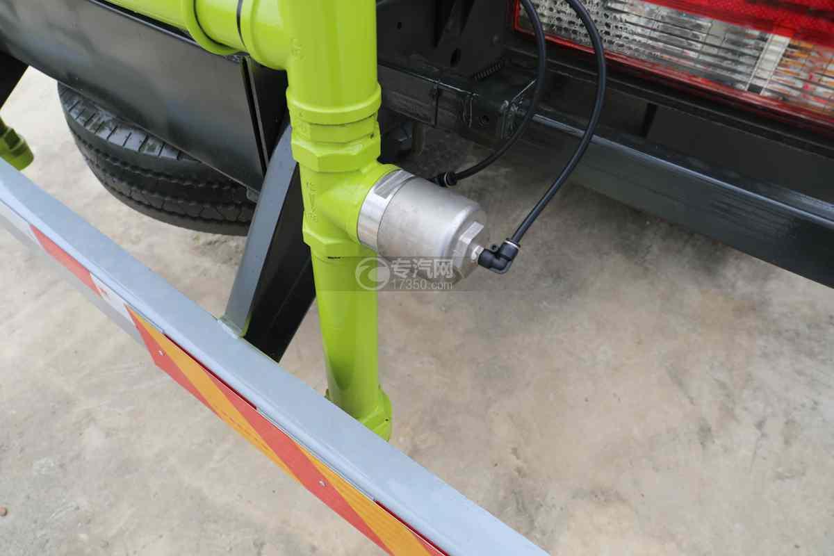 东风多利卡D6国六4方绿化喷洒车气动球阀