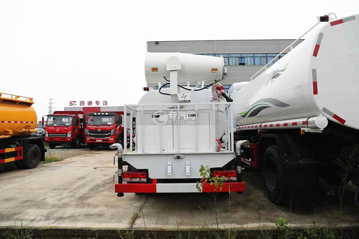 东风福瑞卡F6国六4方绿化喷洒车车尾图
