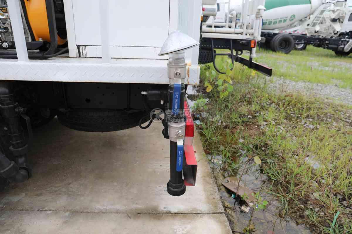 东风福瑞卡F6国六4方绿化喷洒车侧喷