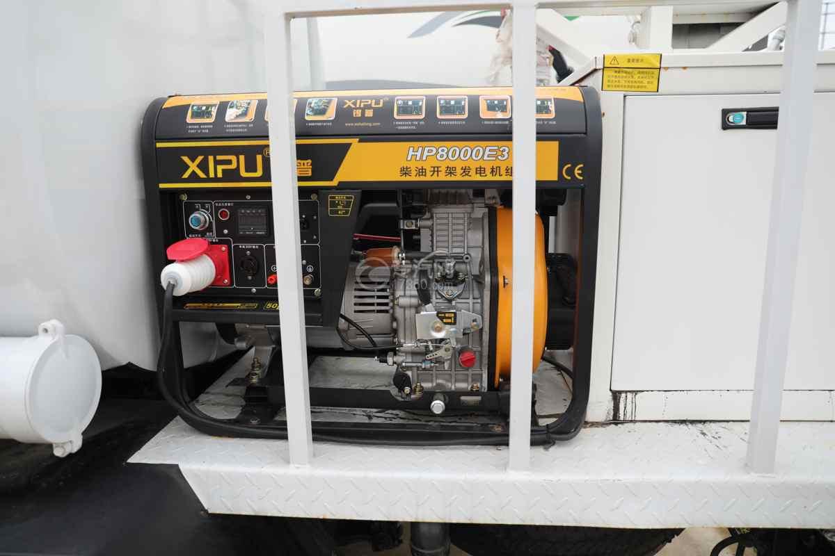 东风福瑞卡F6国六4方绿化喷洒车发电机