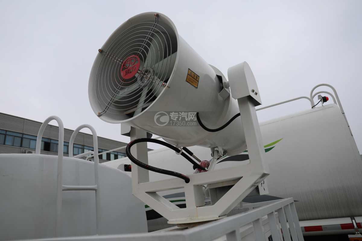 东风福瑞卡F6国六4方绿化喷洒车喷雾机组