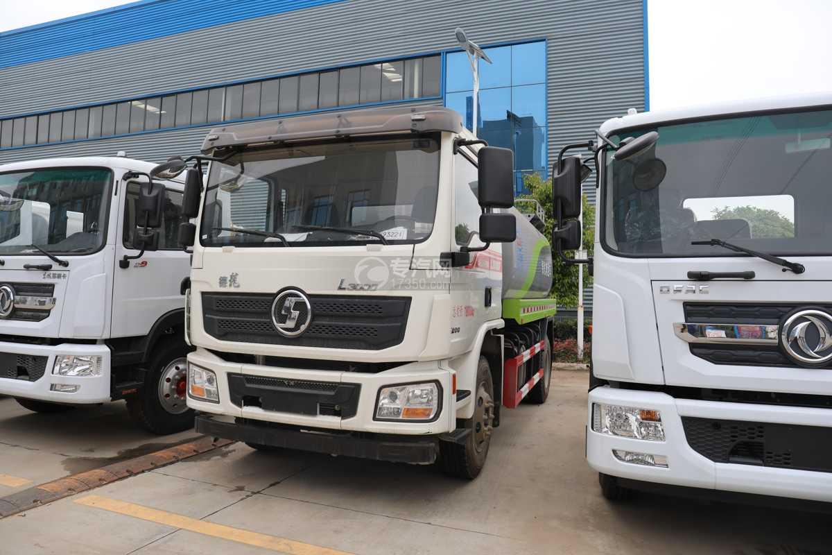 陕汽德龙L3000国六14.49方绿化喷洒车