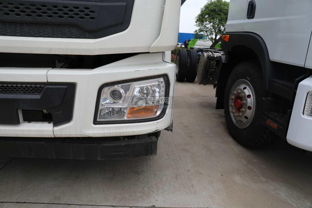 陕汽德龙L3000国六14.49方绿化喷洒车左大灯