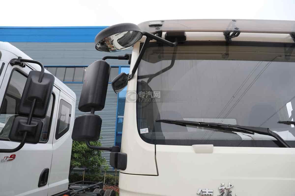 陕汽德龙L3000国六14.49方绿化喷洒车右后视镜