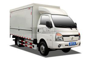 陕汽轩德E9S纯电动3.95米蓝牌厢式货车