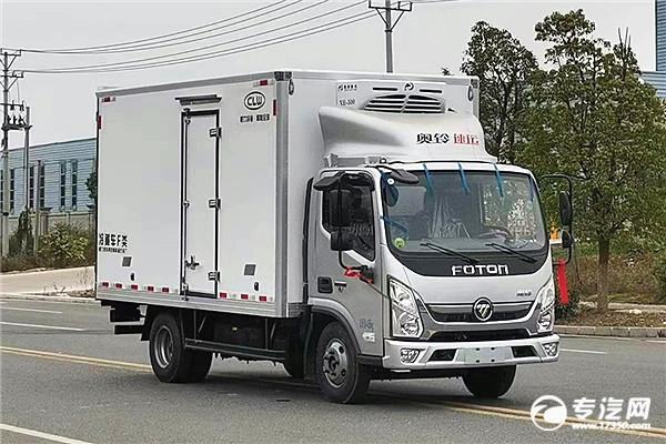 鮮活水產品運輸車與冷藏車的結構有什么不同?