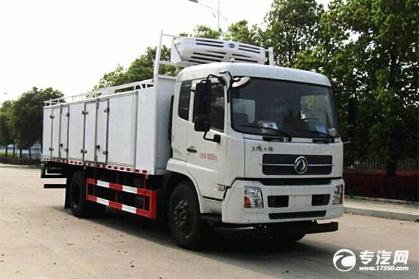 东风天锦国六鲜活水产品运输车