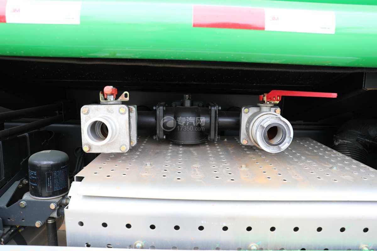 陕汽德龙新M3000前四后八国六40方绿化喷洒车带电子炮球阀